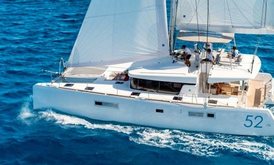 Lagoon 52 Bareboat Charter In Grenada