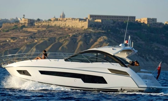 Reserve This Amazing 40ft Sunseeker Portofino Yacht In Maltese Islands, Malta