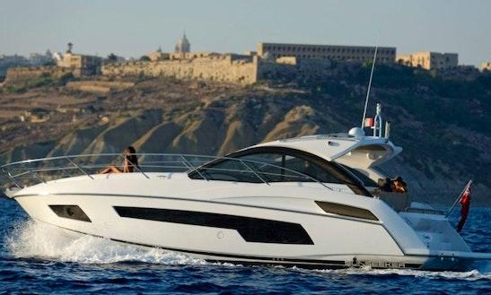 Reserve This Amazing 40ft Sunseeker Portofino Yacht In Maltese Islands, Malta