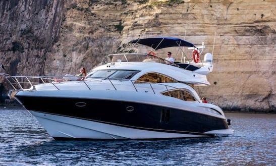 61ft Sunseeker Power Mega Yacht Charter In Maltese Islands, Malta
