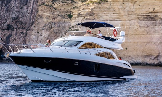 61ft Sunseeker Power Mega Yacht Charter In Maltese Islands, Malta
