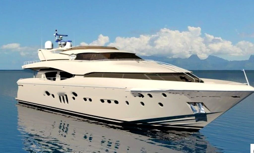 "Charter this luxurious ""Superstar Santa"" Power Mega Yacht in Chon Buri, Thailand"