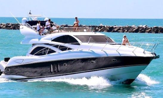 65ft Sunseeker Manhattan Power Mega Yacht Charter In Maltese Islands, Malta