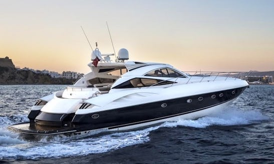 Charter A Sunseeker Predator Power Mega Yacht In Maltese Islands, Malta