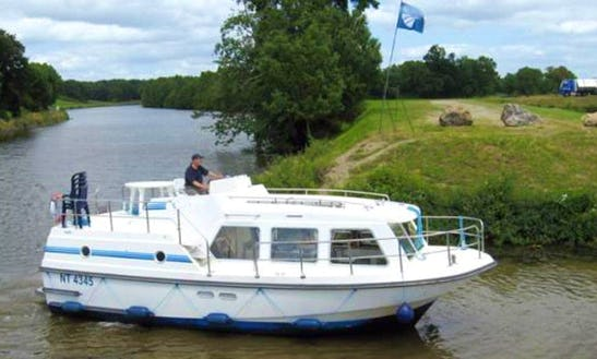 Get On The Sheba Canal Boat For A Sacre Coeur Cruise In Nivernais, France