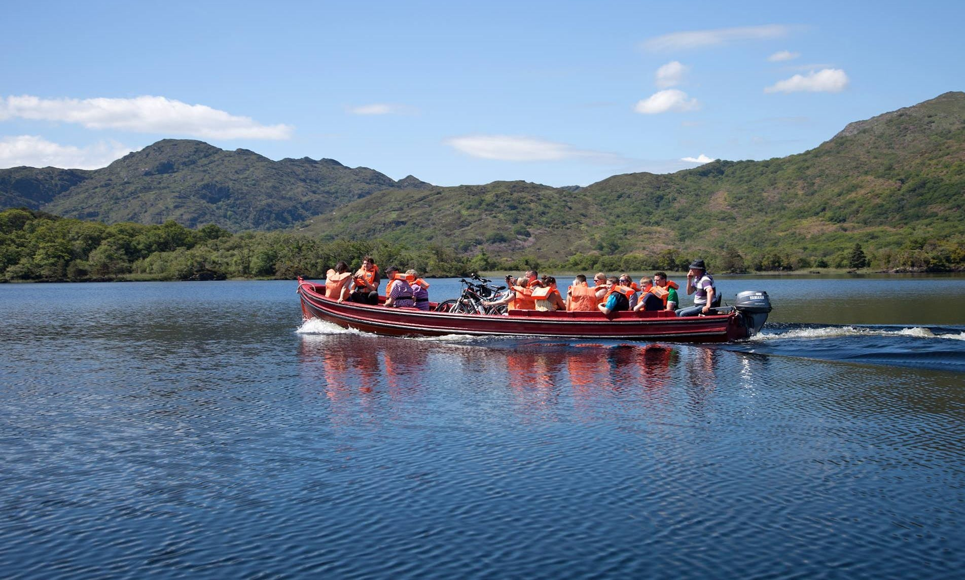 Amazing Sightseeing Boat Tour in Killarney, Ireland