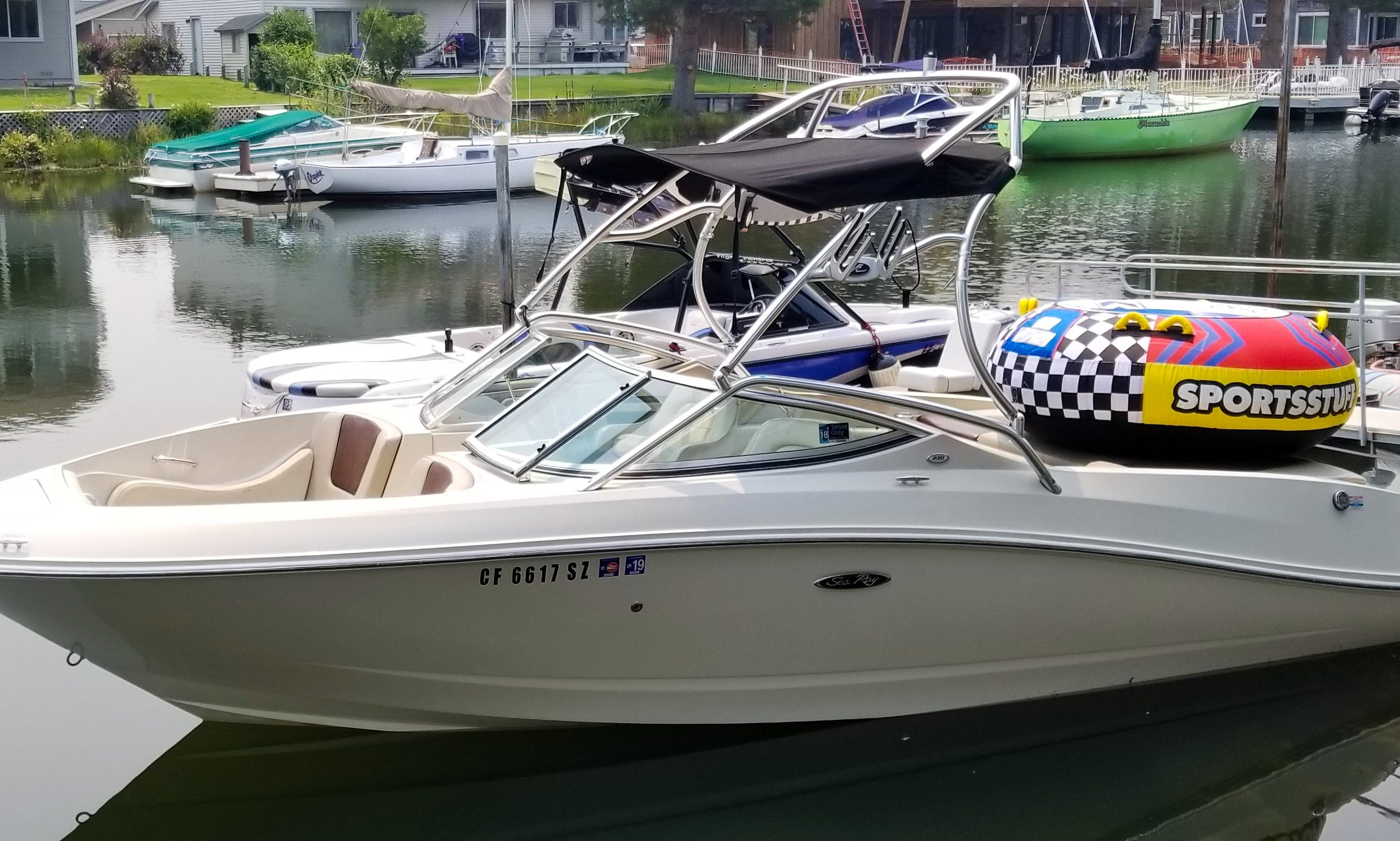 Rent this Searay select 230 in South Lake Tahoe