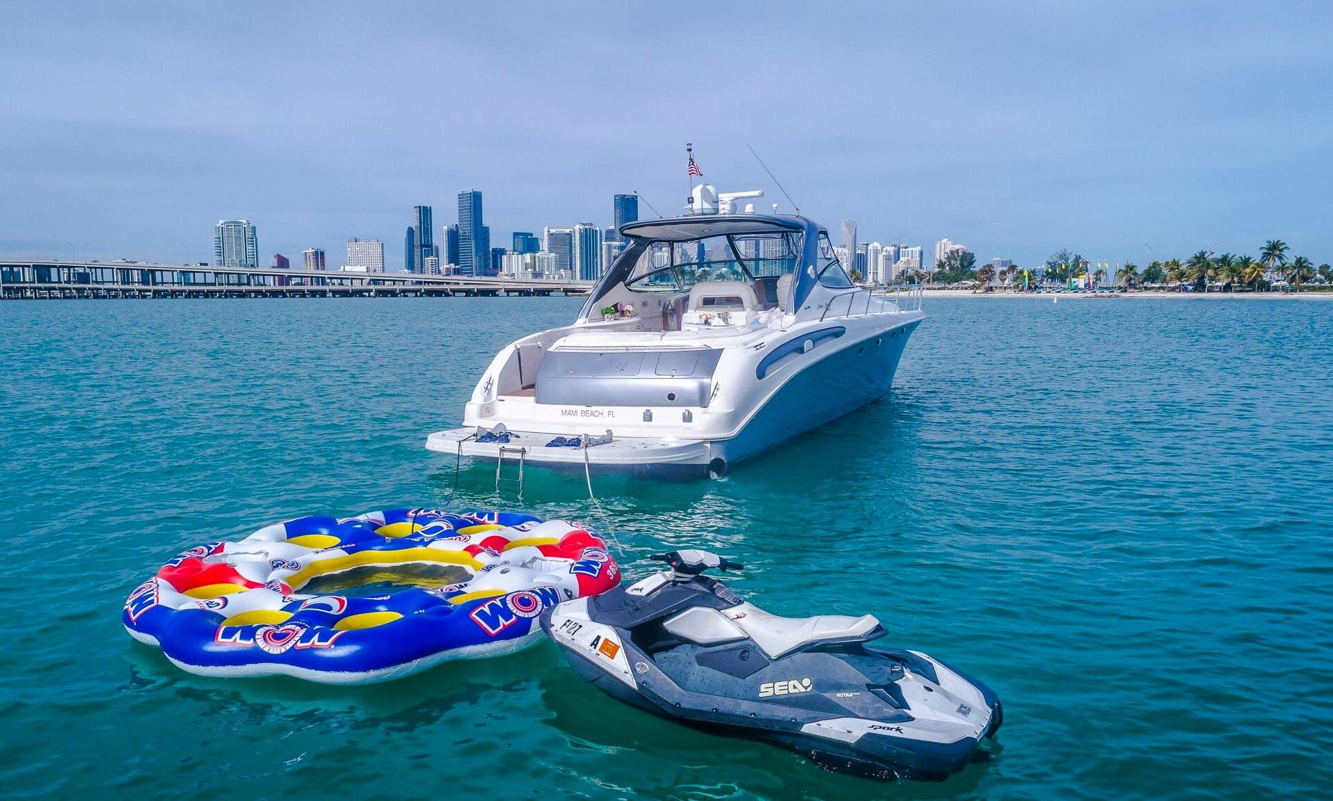 Rent this  54' Sea Ray Yacht - Miami, Florida Keys, The Bahamas!
