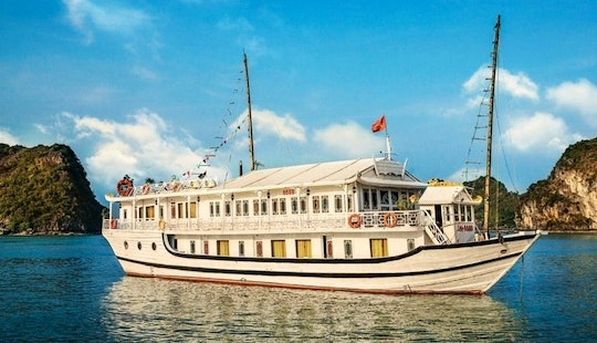 Traditional Wooden Cruise In Hanoi