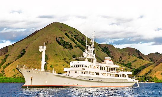 Charter This Astonishing 184' Sailing Mega Yacht Mv Salila To Explore Bali, Indonesia
