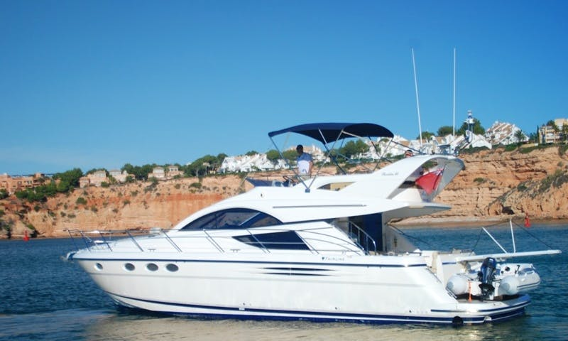 Amazing Fairline Phantom 46 Yacht rental in Portals Nous, Spain