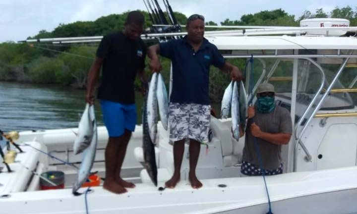 51a322ac0cc Cartagena Fishing Charter on 32' Blue Water Fishing Boat with Captain John