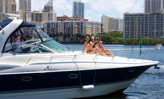 40 Feet Cruisers Motor Yacht Rental In Hallandale Beach, Fl