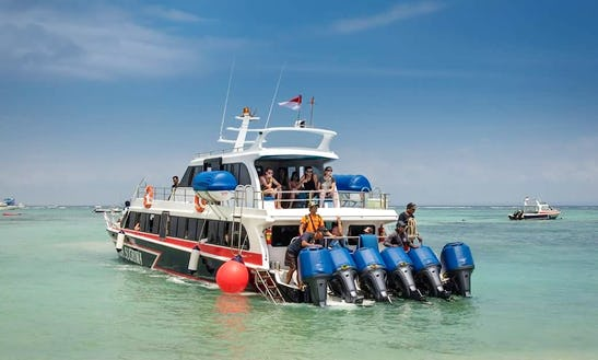 Enjoy The 3 Spots Snorkeling Tour In Denpasar, Bali Aboard Kapi Raja Sugriwa Speedboat