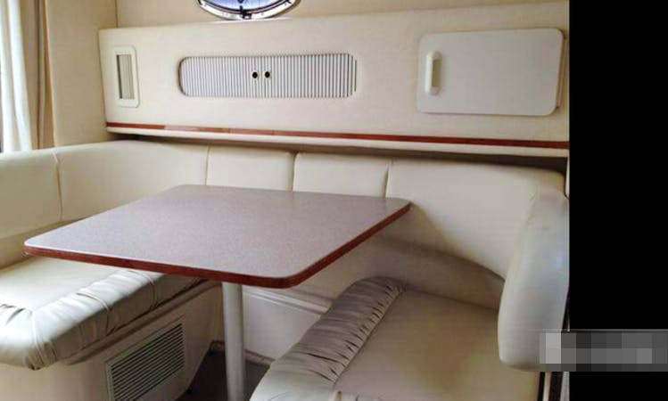 2000 Sea Ray Sundancer Yacht for Rent in Chicago for 6 people