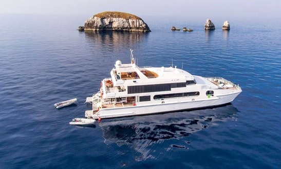Charter This Astonishing 118' Solitude Adventurer Power Catamaran To Explore Indonesia