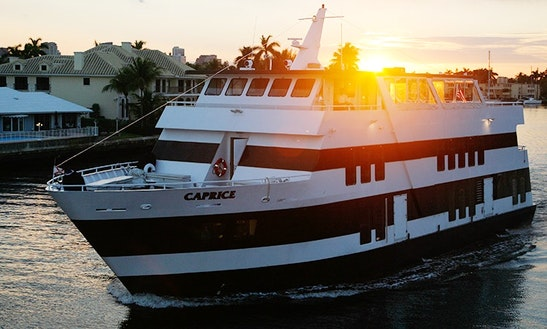 Caprice - South Florida Luxury Mega Part Yacht (with Captain Only)