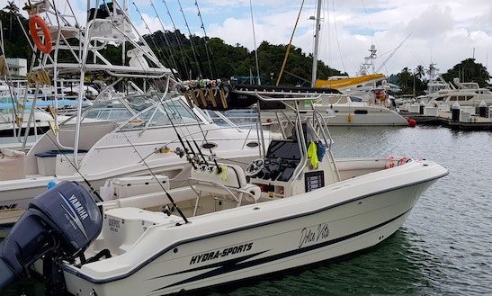 Center Console Fishing Charter In Quepos