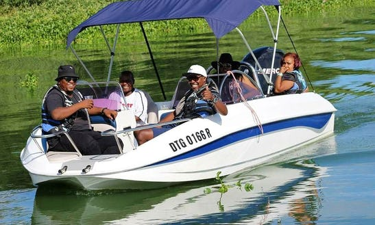 Charter A 12 People Deck Boat To Discover Hartbeespoort, South Africa