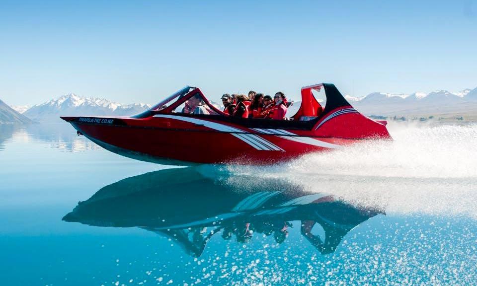Exciting Jet Boat Tour in Lake Tekapo, New Zealand