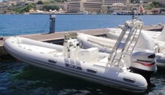 Rib Boat Rental In Limassol With Operator