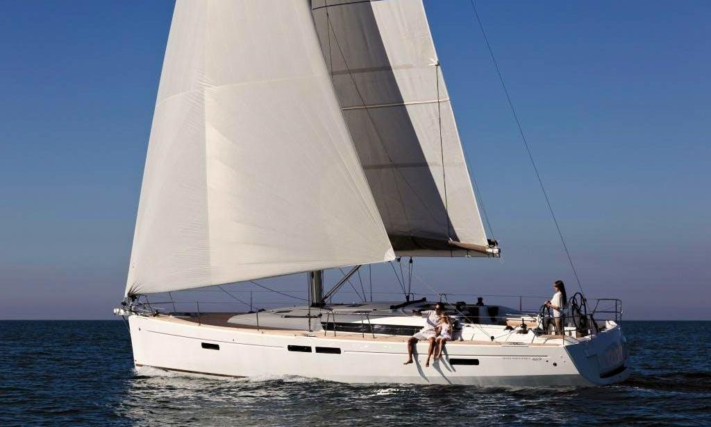 2014 Jeanneau Sun Odyssey Sailboat Rental in Volos, Greece