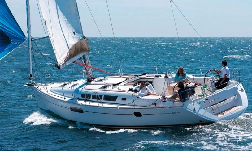2009 Jeanneau Sun Odyssey 44i Cruising Monohull Rental in Volos, Greece