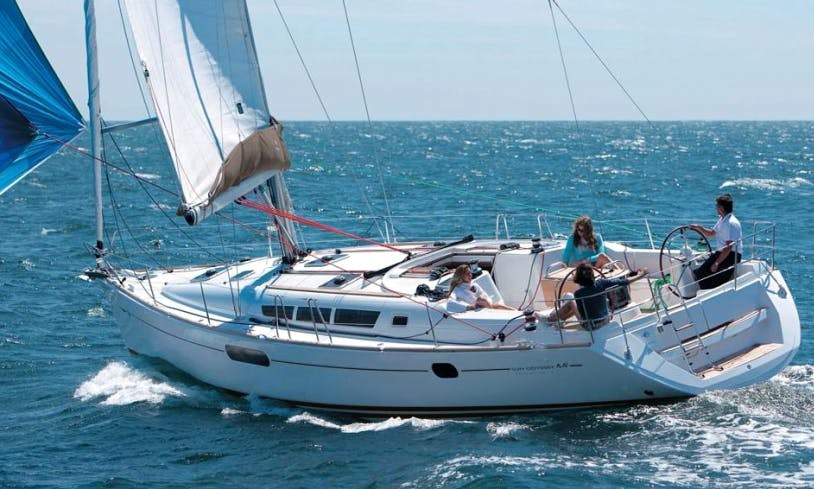 2009 Jeanneau Sun Odyssey 44i Cruising Monohull Rental in Volos, Greece