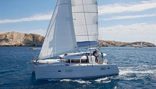 2016 Lagoon 38 Cruising Catamaran Charter In Skiathos, Greece