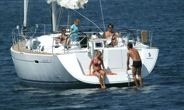Charter a 10 person Beneteau Oceanis Sailboat in Volos, Greece