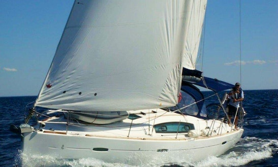 Sailing Trip In Volos, Greece On A 40ft Beneteau Oceanis Yacht