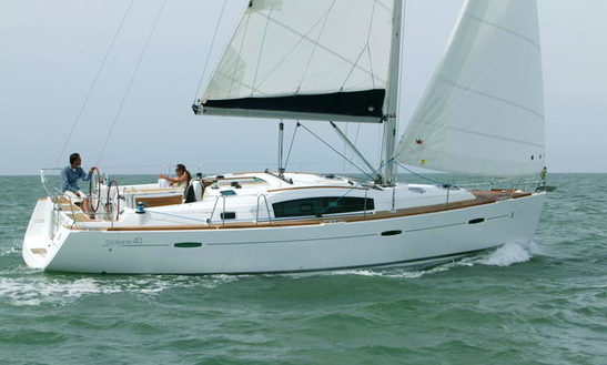 2008 Beneteau Cyclades Cruising Monohull Charter In Volos, Greece For 10 Person.