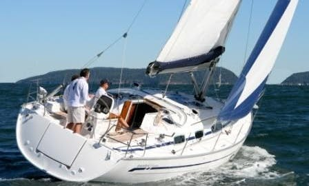Charter a 8 person Bavaria Cruiser Yacht rental in Volos, Greese