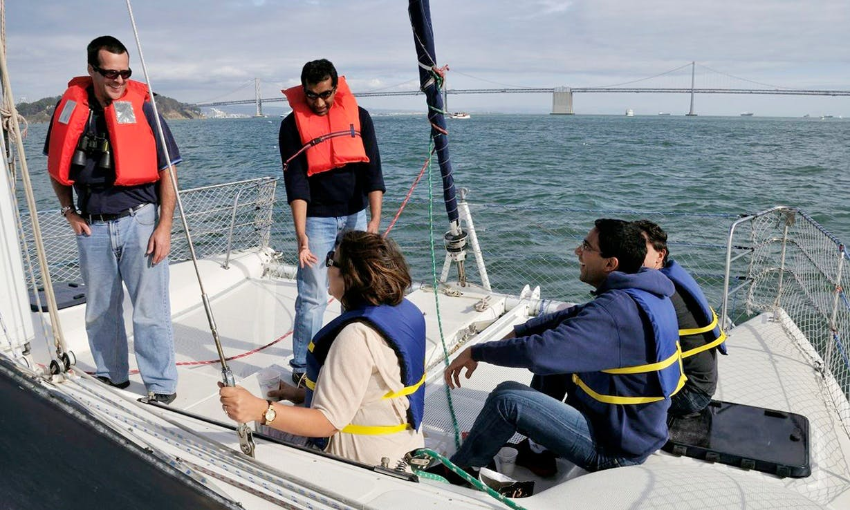Cruising Catamaran rental in San Francisco