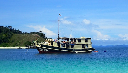 Cruising In The Mergui Archipelago, Kawthoung, Myanmar.