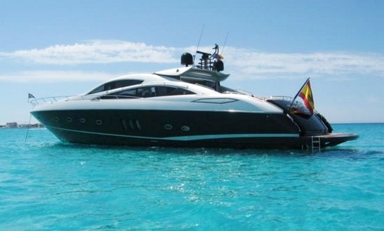 Sunseeker Predator 82 Yacht Charter