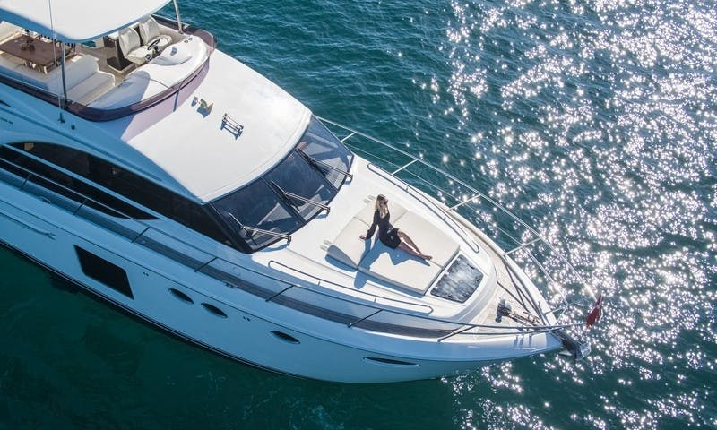 Princess 60 Yacht Charter out of Palma, Spain