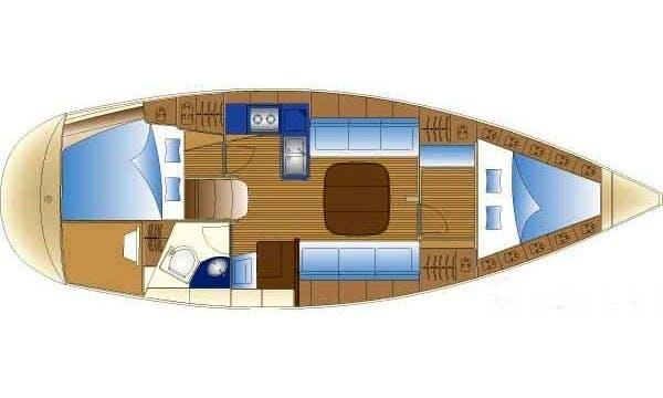 Charter a 2 cabin  Bavaria Cruiser Cruising Monohull in Volos, Greece