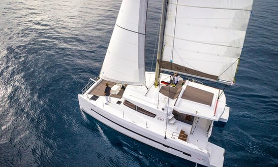 40ft Catana Bali Cruising Catamaran Charter In Skiathos, Greece For 12 Person
