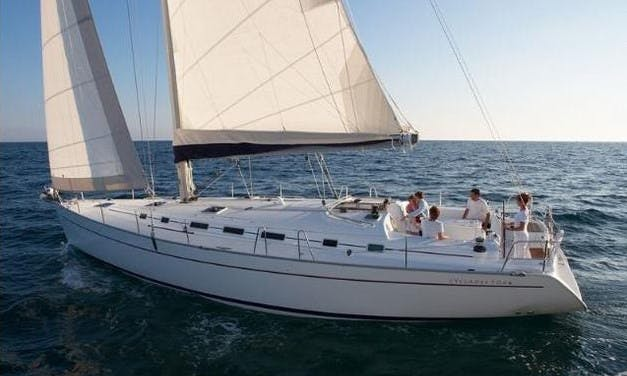 Charter a 12 person Beneteau Cyclades Sailing Mega Yacht in Volos, Greece