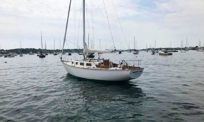"34' Famous Cruising Mono-hull Rental in Newport, RI (""Sailing Capitol of the World"")"