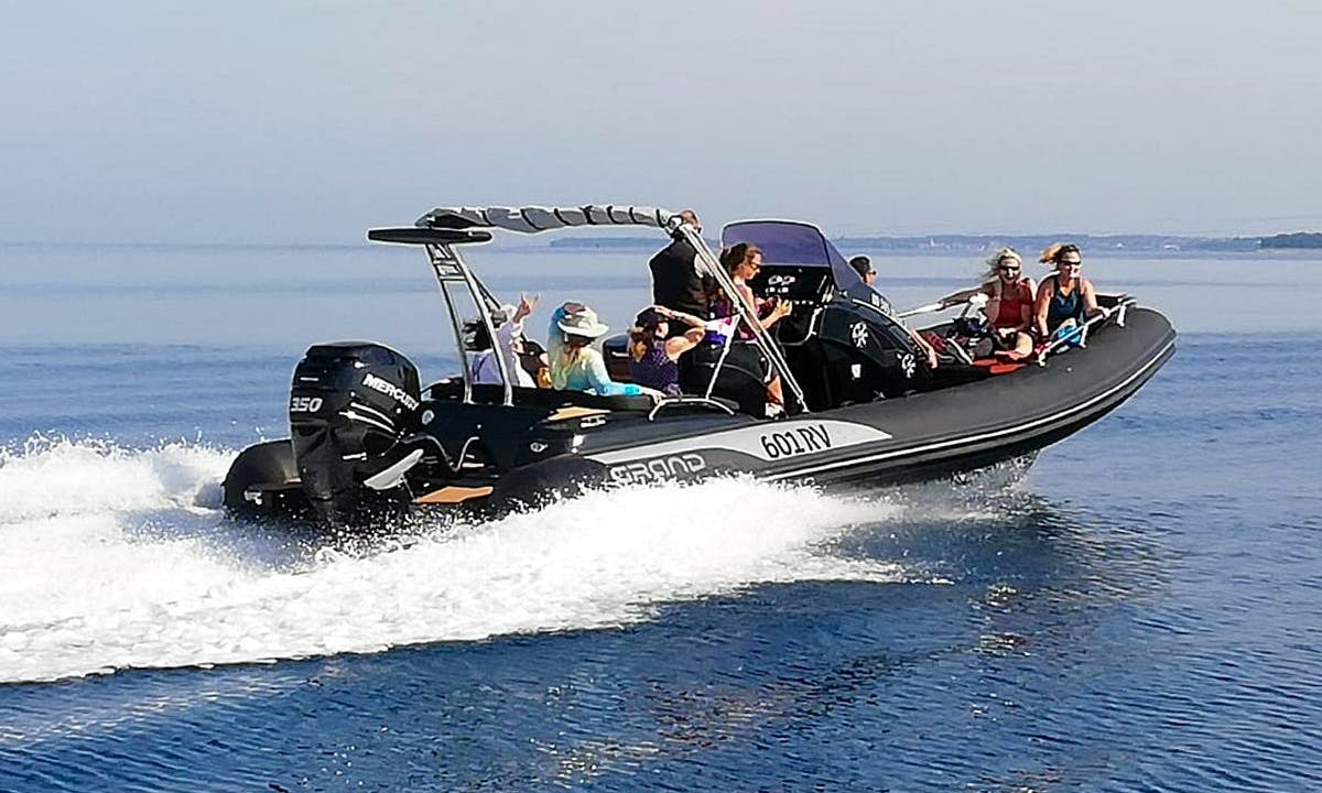 Grand 850 RIB Rental in Rovinj, Croatia