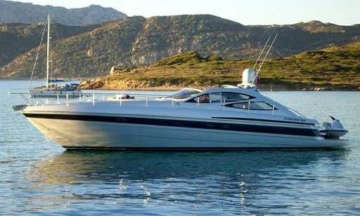 Charter this Performance Luxury Motor Yacht in Vilamoura - ALGARVE, Portugal.