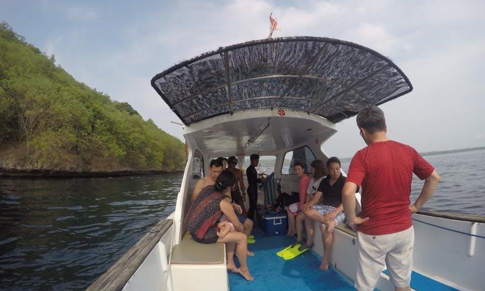 Charter a power catamaran in Denpasar, Bali for Spearfishing