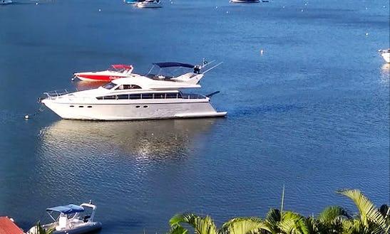65' Techenema Power Mega Yacht Charter In Angra Dos Reis, Brazil