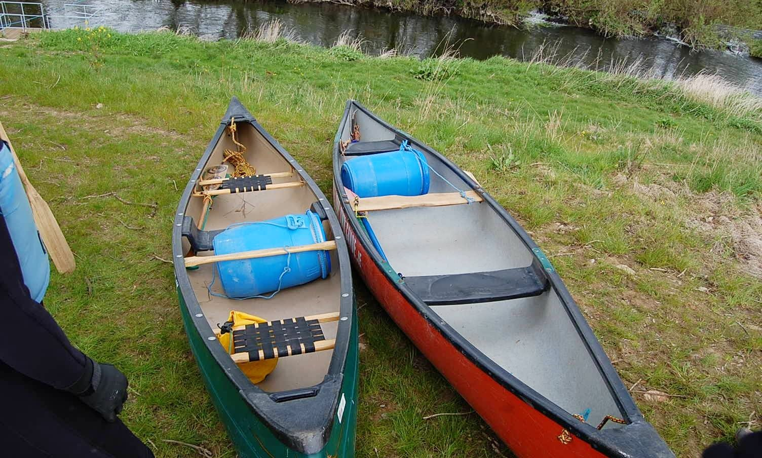 Paddle Your Own Canoe in County Carlow, Ireland