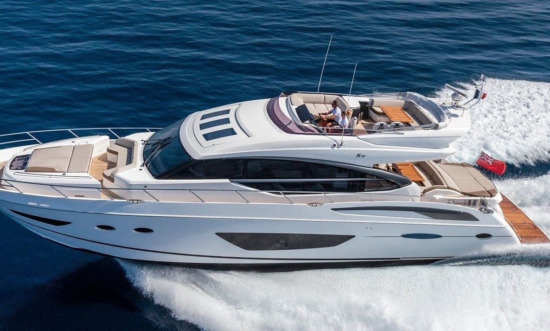 72′ Princess (Weekdays Only) Power Mega Yacht Charter in Sag Harbor, New York