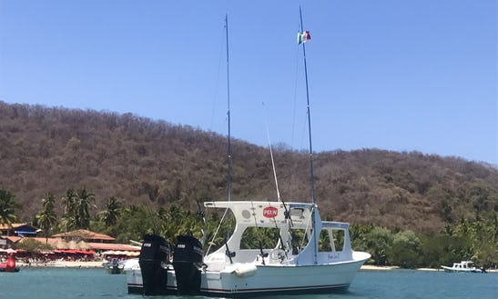 Super Panga Fishing Charter In Zihuatanejo