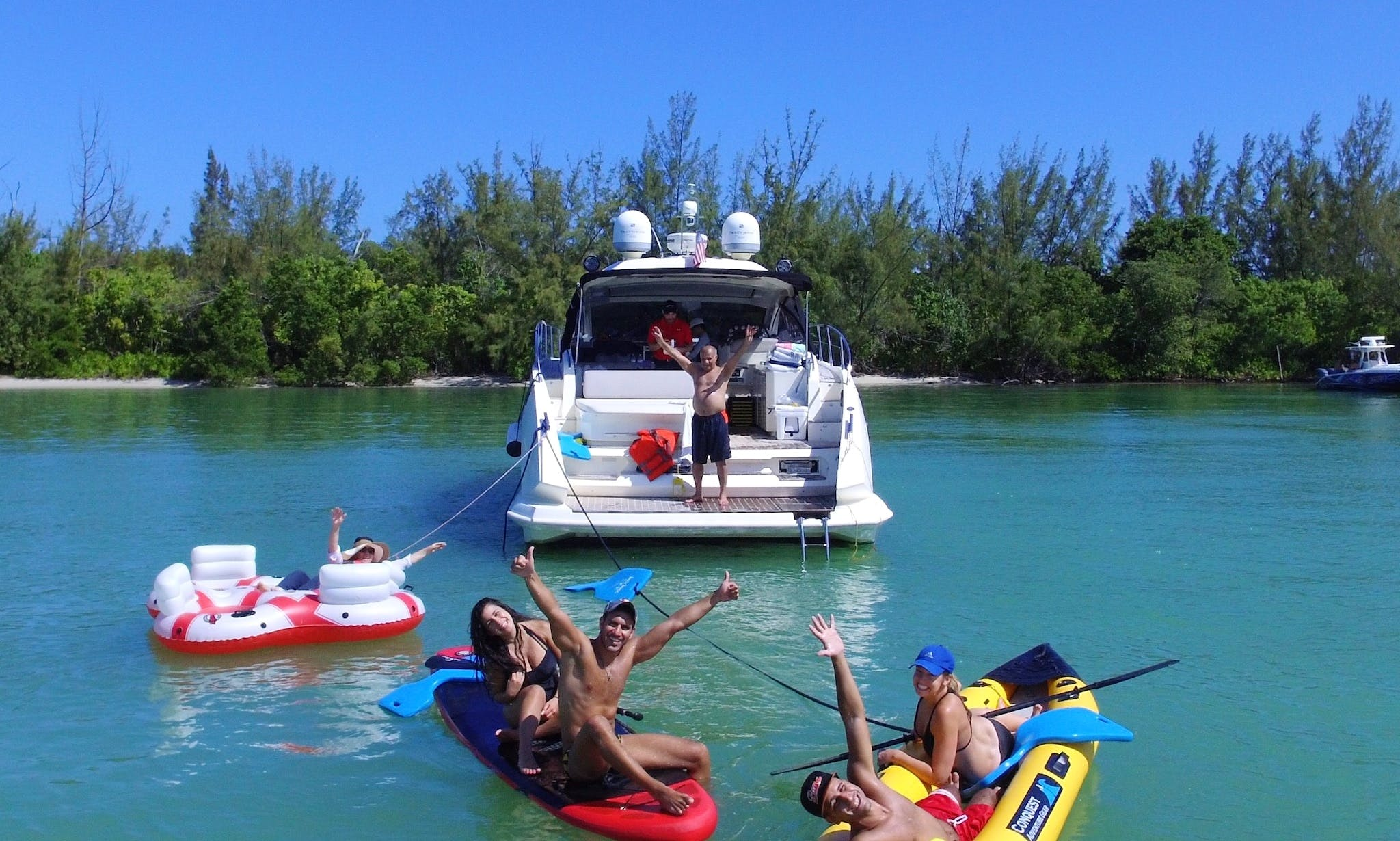 Yacht Rentals Miami - 44' Atlantis - Miami, Florida Keys and The Bahamas!
