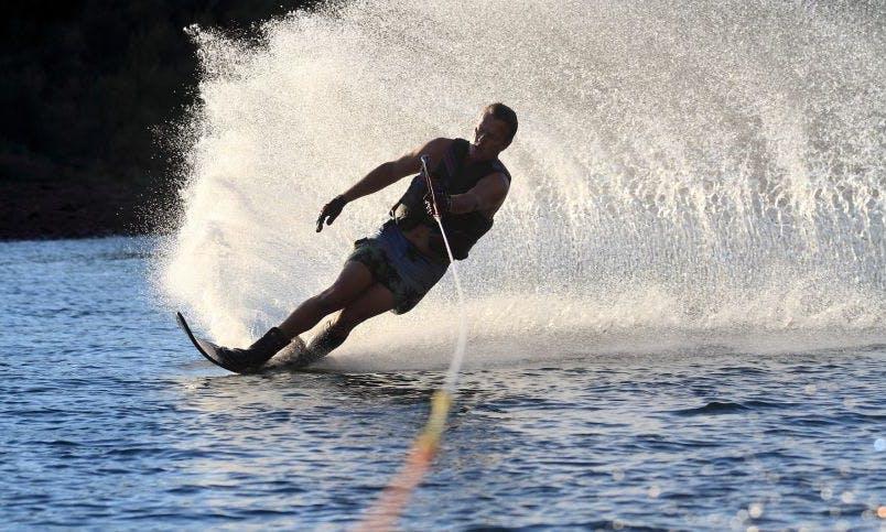 An unforgettable Water Skiing experience in Keramoti, Greece